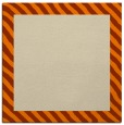 rug #1049550 | square beige stripes rug