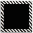 rug #1049554 | square plain black rug