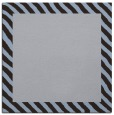 rug #1049662 | square plain blue-violet rug