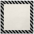 rug #1049694   square plain black rug