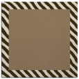 rug #1049706 | square plain mid-brown rug