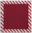 rug #1049774 | square plain pink rug