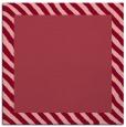 rug #1049778   square plain pink rug