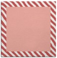 rug #1049782 | square plain white rug