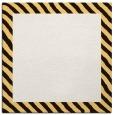 rug #1049850 | square plain brown rug
