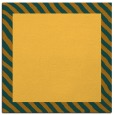 rug #1049878 | square light-orange borders rug