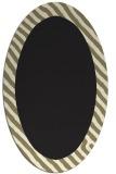 rug #1049942 | oval plain black rug