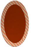 rug #1050132 | oval borders rug