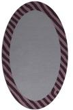 rug #1050169 | oval plain rug
