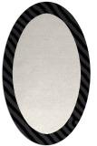 rug #1050206 | oval white animal rug