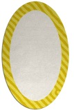 rug #1050210 | oval plain white rug