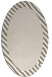 rug #1050232 | oval plain rug