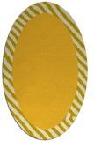 rug #1050237 | oval plain rug