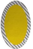 rug #1050242 | oval white borders rug