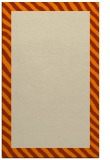 rug #1050286 |  orange stripes rug