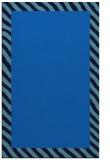 rug #1050318 |  blue borders rug