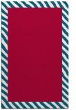 rug #1050406 |  plain red rug