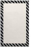 rug #1050430 |  plain black rug