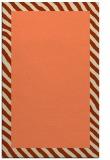 rug #1050498 |  plain orange rug