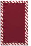 rug #1050510 |  plain pink rug