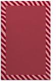 rug #1050514 |  plain pink rug