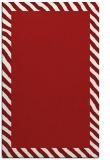 rug #1050546 |  plain red rug