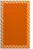 rug #1050558 |  plain red-orange rug