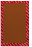 rug #1050562 |  red-orange stripes rug