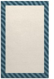 rug #1050594 |  plain blue-green rug