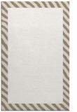 rug #1050598 |  plain white rug