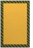 rug #1050614 |  plain yellow rug