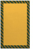 rug #1050614 |  plain light-orange rug