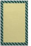rug #1050618 |  plain yellow rug