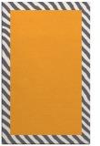 rug #1050650 |  plain light-orange rug