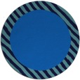 rug #1050686 | round plain blue rug