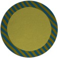 rug #1050736 | round plain rug