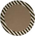 rug #1050810 | round beige borders rug