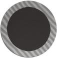 rug #1050870 | round plain red-orange rug