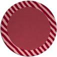 rug #1050882 | round plain pink rug
