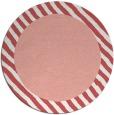 rug #1050886 | round plain pink rug