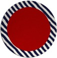 rug #1050906 | round red borders rug