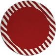 rug #1050914 | round red borders rug