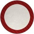 rug #1050915 | round plain rug