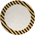 rug #1050954 | round plain brown rug