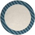 rug #1050962 | round blue-green animal rug