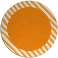 rug #1051014 | round light-orange animal rug