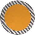 rug #1051018 | round light-orange animal rug