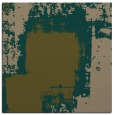 rug #1051766 | square brown abstract rug