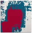 rug #1051770 | square red abstract rug