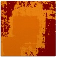 rug #1051854 | square orange graphic rug